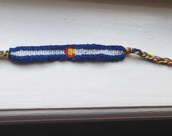 CO Flag Bracelet