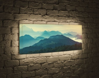 "LED panel ""Mountains"""