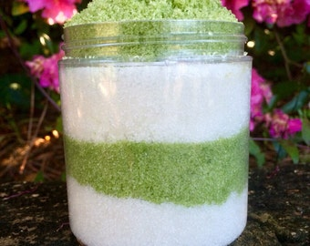 Body Scrub, Rosemary Mint Body Scrub, Rosemary Body Scrub, Rosemary Scrub, Mint Body Scrub, Mint Scrub, Peppermint Body Scrub, Gifts for Her