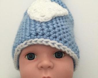 Adorable Soft Crochet Hat for Newborn
