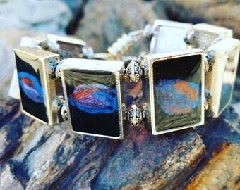 Galaxy bracelet / one of a kind