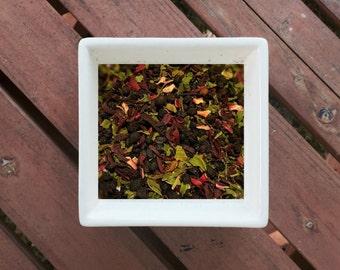 Mind Your Elderberry - Organic Loose Leaf Tea, Herbal Tea, Peppermint Tea, Hibiscus Tea, Elderberry Tea, Vegan Tea, Organic Tea
