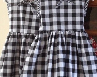 Size 3 Gingham Dress