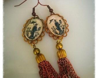 Vintage Asian Tassels