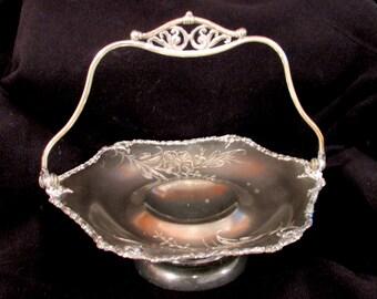 Antique (c. 1895) Barbour Co. Quadruple Silverplate Tray