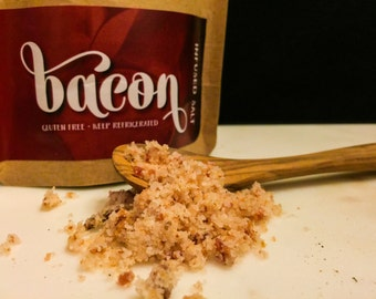 Bacon Infused Salt