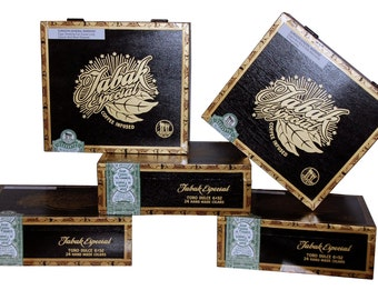 Sale End Tomorrow! 5 Empty Cigar Boxes