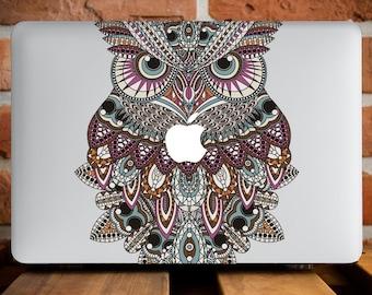 Colorful Owl MacBook Pro Retina 15 Case MacBook Air 13 Case MacBook Pro 15 Case Macbook Hard Cover MacBook Pro 13 Case MacBook Air 11 WCm009