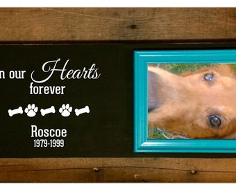 Rustic Black Pet Frame