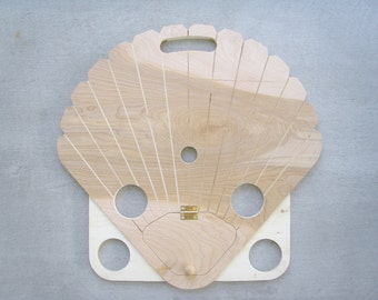 BEACH TABLE - SCALLOP - free shipping