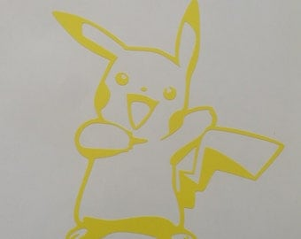 Pikachu decal