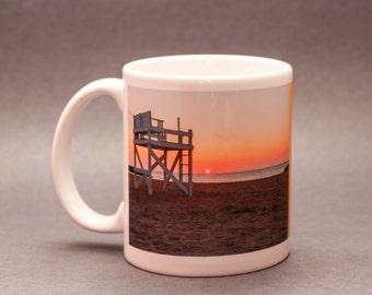 Keeping Watch Ceramic Mug