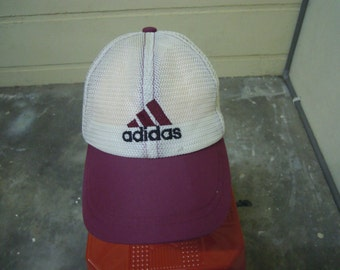 RARE Vintage ADIDAS Running   Adidas Cycling   Adidas Sport cap hat free size for all