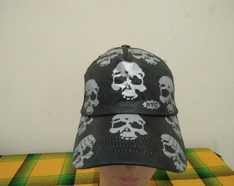 Rare Vintage NYC | NYC SKULLS Cap Hat Free size fit all