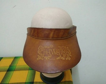 Rare Vintage HAWAII Sun Hat Free size fit all