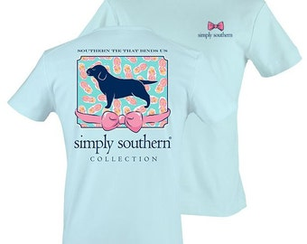 Simply Southern Preppy TShirt -- PRPPUPPY-BUBBLES