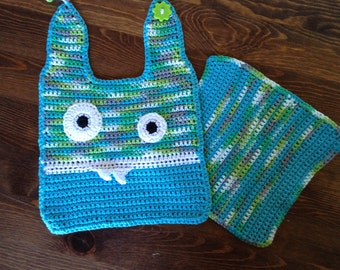 Bib and Facecloth Set