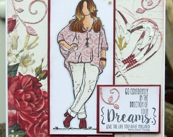 Dreams Handmade Card