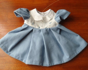 Forget me not fits sz 18-20 inch dolls