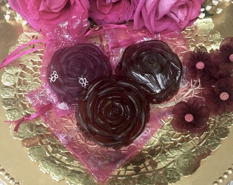 Rose Soaps, Organic, All-Natural, IF Beauty Bars