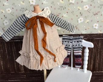 SALE% Blythe dress handmade OOAK