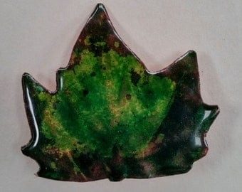 SHEET 3 brooch enamel on copper fire