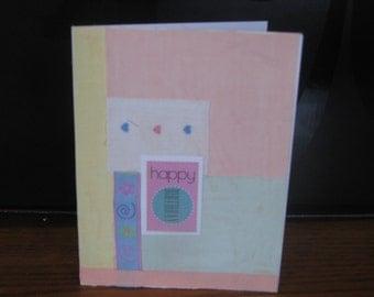 Happy Birthday children's card