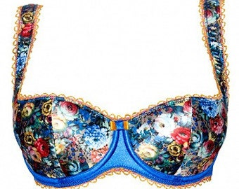 Maria Floral Balconette Bra | by VIPA