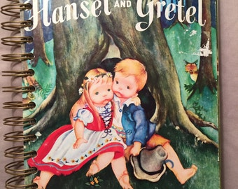 Upcycled Hansel and Gretel Journal