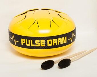 Hijaz Steel tongue drum Hank drum Tank drum Steel drum Slit drum Drum for meditation Drums