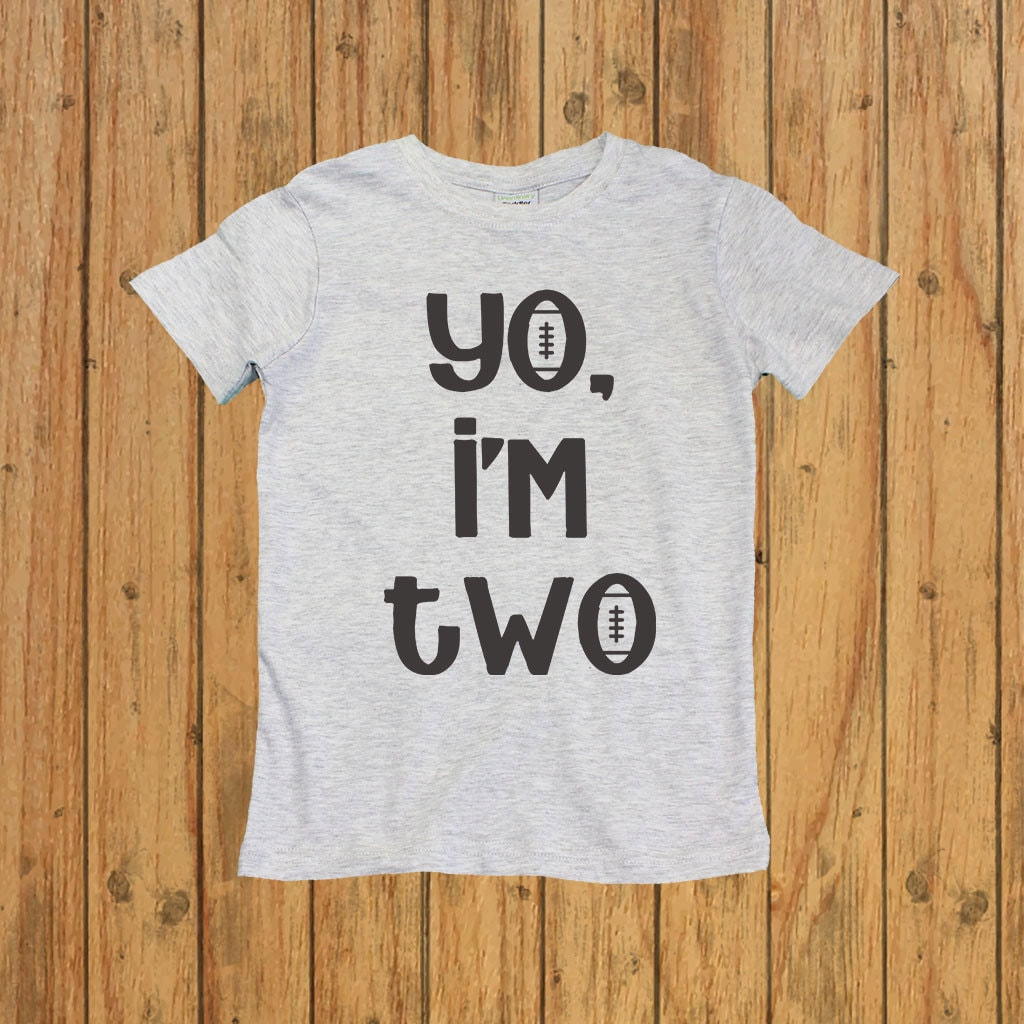 Birthday Shirts For 2 Year Old