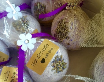 Organic Extra large Bath Bombs free shipping