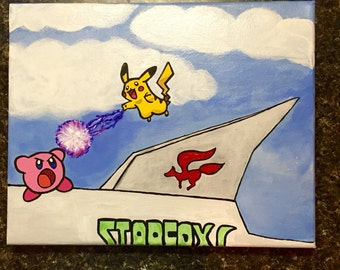 Kirby vs. Pikachu