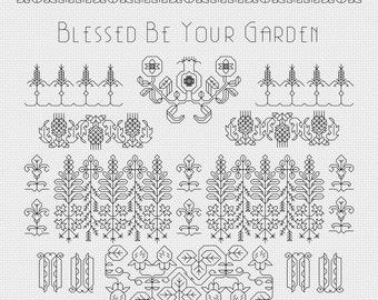 30% Savings when you buy all three Summer Garden patterns