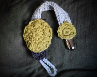 Slow and Steady - Turtle Pacifier Holder