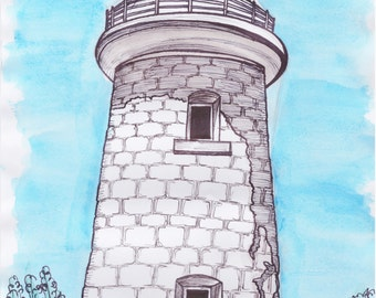 Cape Naturaliste Lighthouse Print