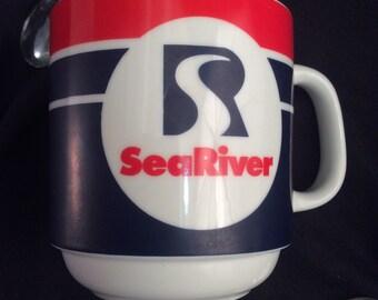 Vintage SeaRiver Mug
