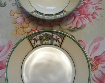 Vintage Bowl and Plate