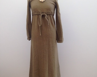 Wool dress, size 8.