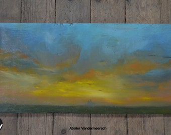 Sky in the Beauce region 3/4