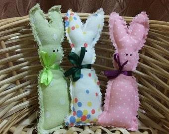 Rabbit magnet handmade