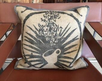 Coffee Bag Pillow