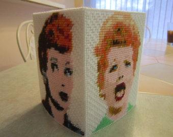 I Love Lucy Tissue Box