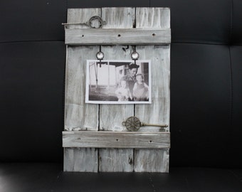 Rustic Pallet Photo Frame