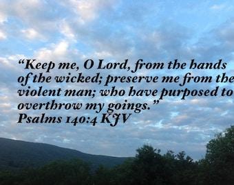 Psalms 140:4