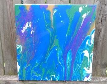 Abstract Fluid Acrylic-- Pop
