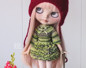Dress for Blythe doll - dress for Blythe doll