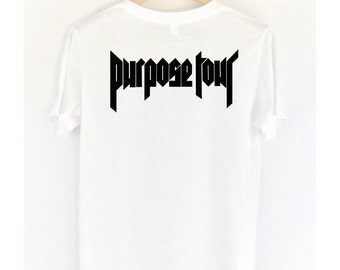 Justin Bieber Purpose Tour T-Shirt, Handmade with High Quality #Justin Lover
