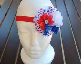 4th of July Headband