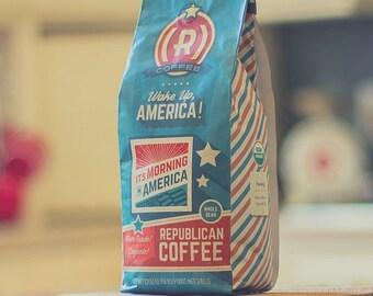 Morning in America -- Republican Coffee Americana Series